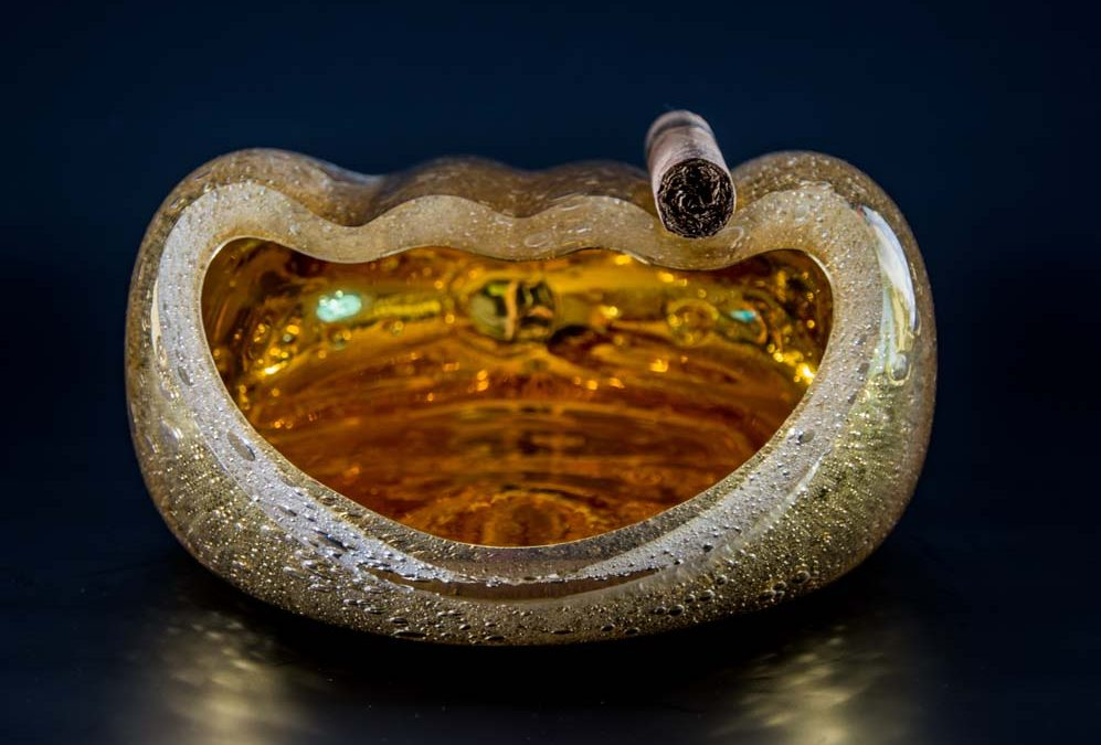 Salamander Ashtray